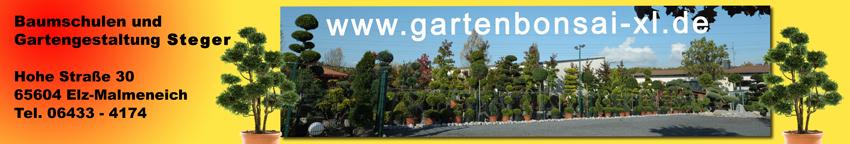 Gartenbonsai Fachbetrieb Steger